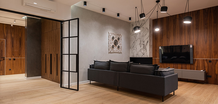 sitting room living room wooden